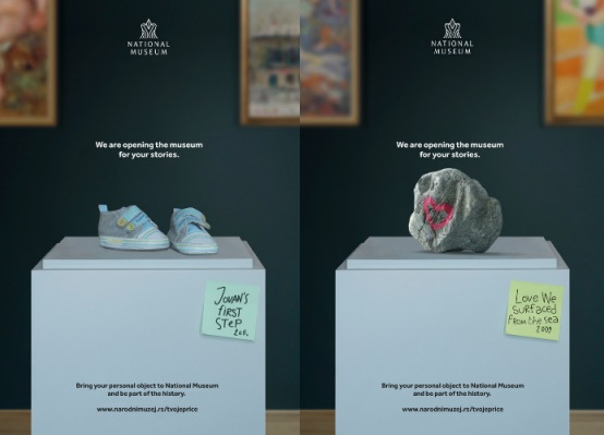 Introducing personal objects to the museum space through 'Your Stories'